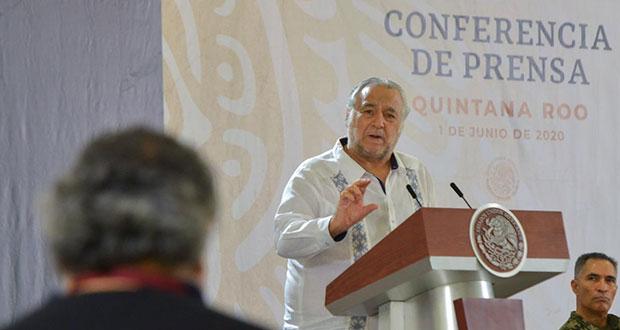 Turismo nacional para reactivar sector; en verano 35% de ocupación: Torruco