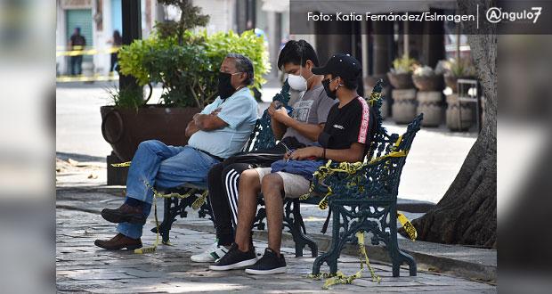 Puebla llega a 4,220 contagios de Covid-19; 987 están activos en 73 municipios