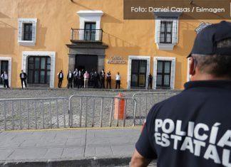 Policías estatales se mantienen en paro tras rechazar aumento del 3%