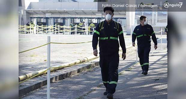 Federación reafirma 3a semana de semáforo rojo para Puebla por Covid