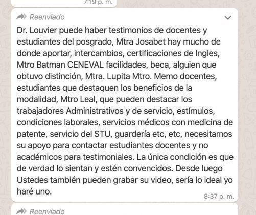 BUAP azuza a universitarios a defender a Esparza con campaña en redes