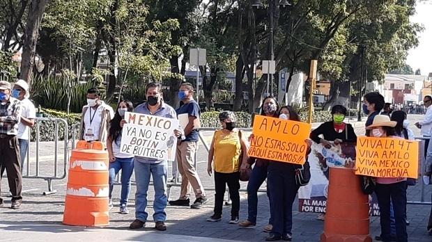 AMLO pide a simpatizantes no hacer marchas a favor de su gobierno