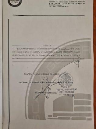 """Denuncian a secretario general de Tehuacán por """"alterar"""" acta de Cabildo"""