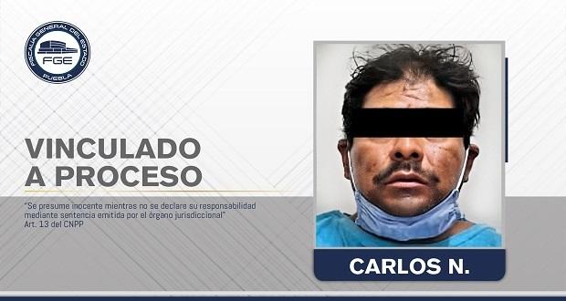 Vinculan a proceso a presunto pederasta y golpeador en Atoyatempan