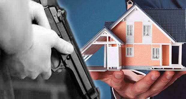 Van 4 asaltos contra sector inmobiliario de Puebla en 2020, reportan