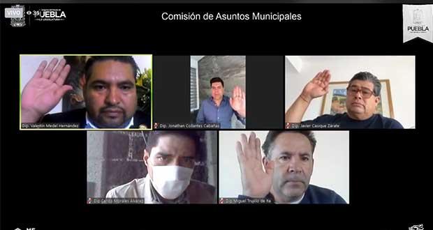 En Puebla, diputados avalan que Cabildos transmitan sesiones
