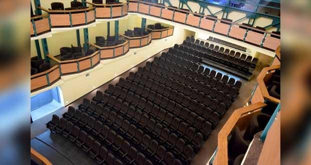 Comuna invierte 8.5 mdp en remodelar Teatro de la Ciudad; aforo, de 577 lugares