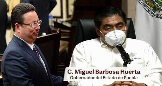 Eukid Castañón enfrenta otro proceso por uso de recursos ilícitos: Barbosa