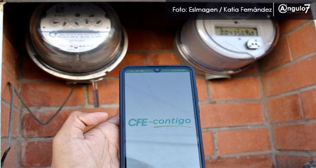 Puebla, con 300 quejas por altos cobros de luz; CFE no aumentará tarifas: Segob