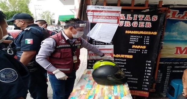 Comuna clausura 6 locales por venta de alcohol en plena pandemia