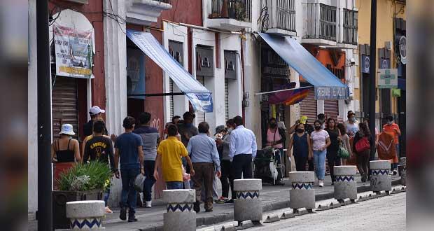 Sólo 20% de comercios en CH de Puebla está abierto: consejo