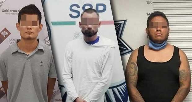 SSP detiene a dos asaltantes y recupera un tractocamión robado
