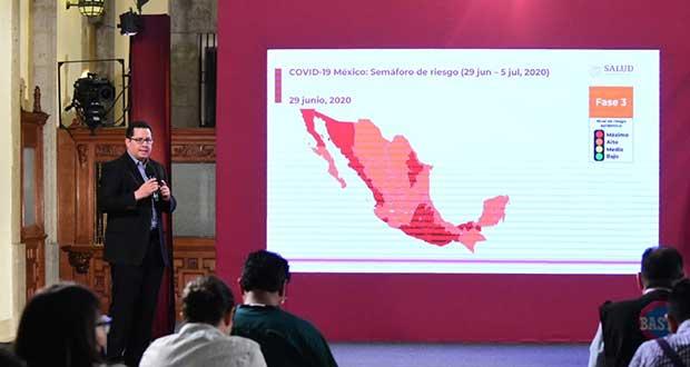 Tras 4 meses de epidemia, México rebasa las 27 mil muertes por Covid