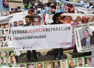 Sólo 20% de familiares de desaparecidos con un empleo formal: Idheas