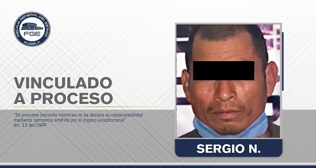 Vinculan a proceso a sujeto por intento de feminicidio en Pahuatlán