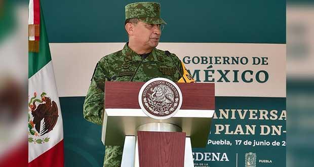 Reconocen a militares que combaten pandemia; es un orgullo: Sedena
