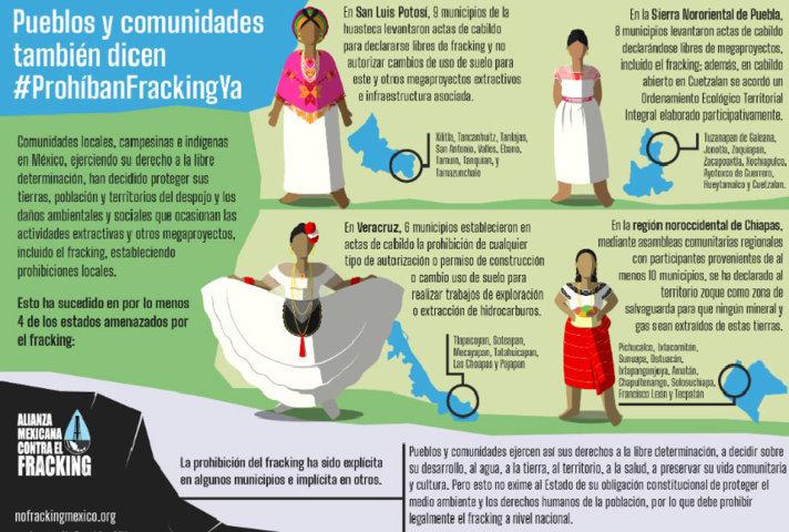 8 municipios de Sierra Nororiental no quieren más megaproyectos ni fracking