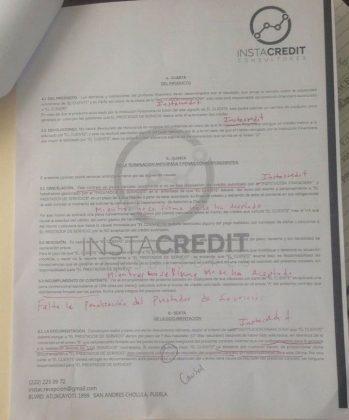 """Rubén depositó a Instacredit por promesa """"préstamo"""", pero le dan """"asesoría"""""""