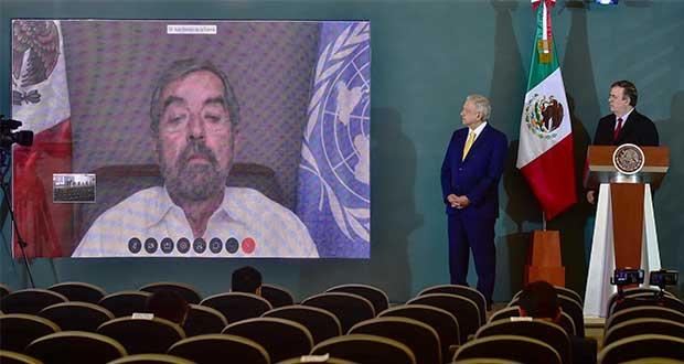 México promoverá en la ONU la resolución pacífica de conflictos