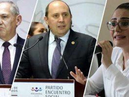 INE ordena a Jiménez, Manzanilla y Salvatori abstenerse de autopromoción