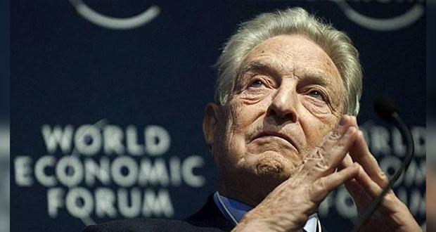 Soros, detrás de golpes en países para imponer globalismo, señalan