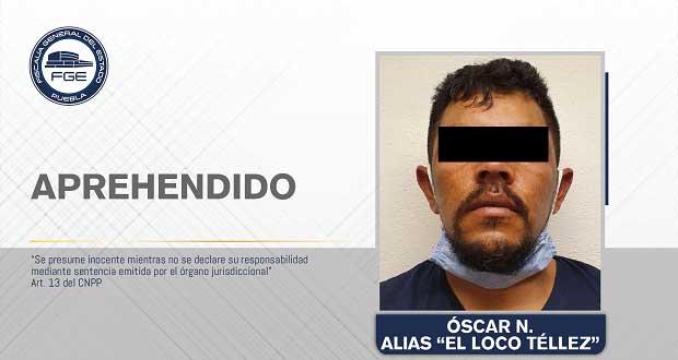 """FGE detiene a """"El Loco Téllez"""", generador de violencia en San Martín"""