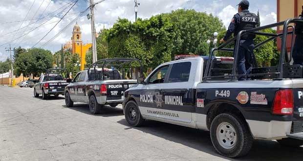 En una semana, Ssptm de San Andrés Cholula atiende 19 reportes