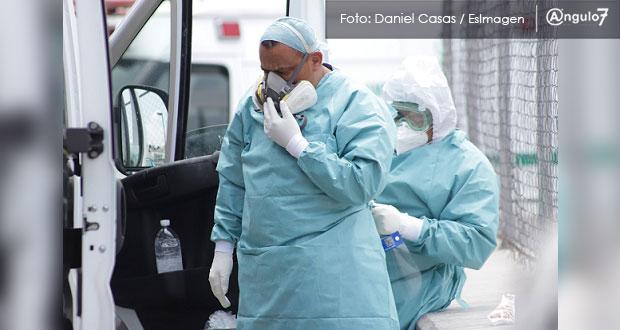 Puebla, con 134 casos activos de Covid-19 en personal de la salud