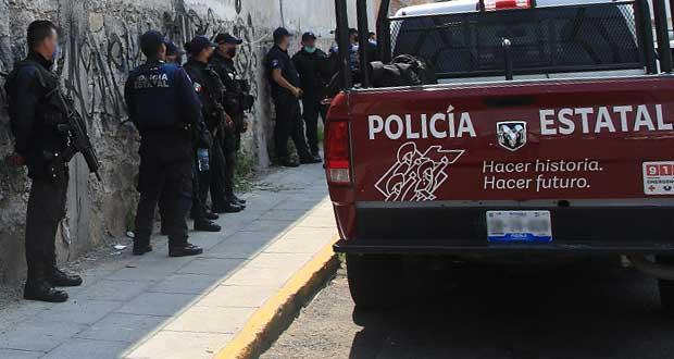 Policías de Huejotzingo piden cesar a efectivo denunciado por acoso