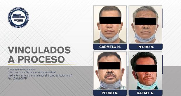 Van a proceso 4 hombres por linchamiento de 2 en Los Ángeles Tetela