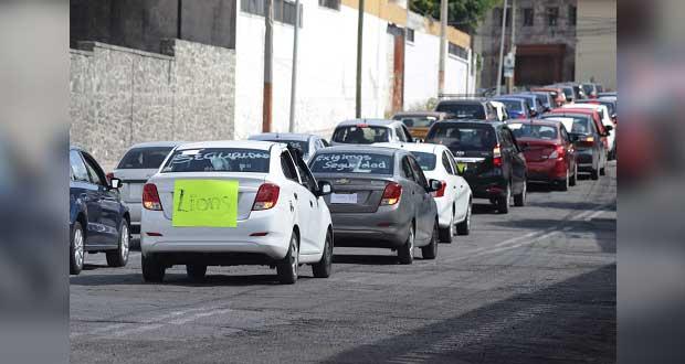 En 2da protesta, choferes de Uber exigen seguridad y bajar cuotas