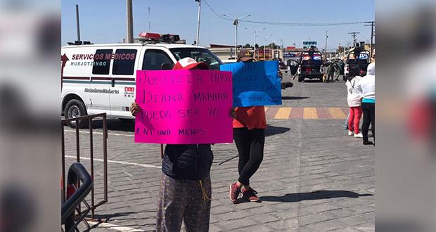 """MP no """"da la cara"""" tras liberar a agresor de niña agredida en Huejotzingo"""