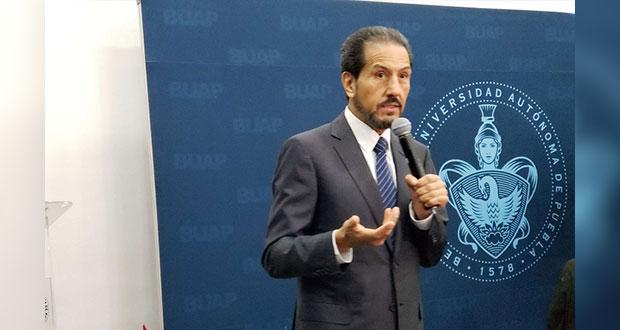 Barbosa respalda denuncia de Finanzas contra hija del rector de la BUAP