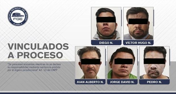 FGE obtuvo vinculación a proceso de cinco presuntos secuestradores