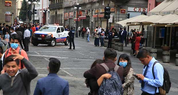 Sismo de 7.5 grados no causó daños en Puebla, informa Segob