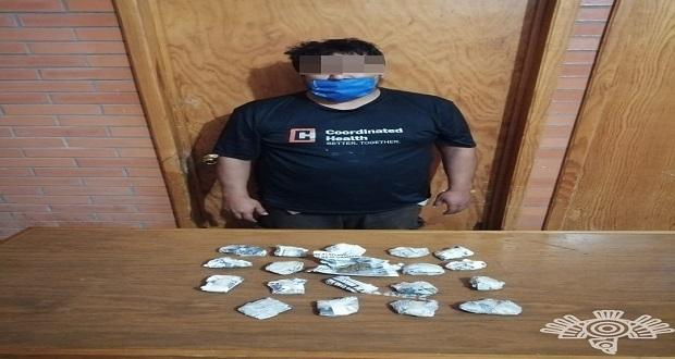 Detiene SSP a presuntos narcomenudistas en Zihuateutla