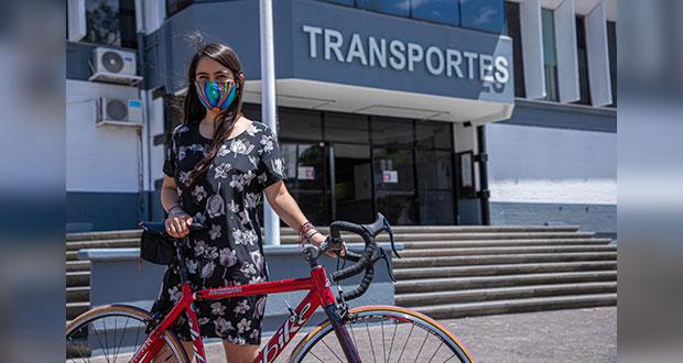En Puebla, 54.5% de usuarios de bicicleta la usan para ir al trabajo