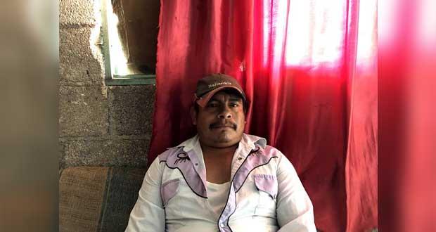 Habitantes de Tlaola, sin apoyo gubernamental en pandemia: Antorcha