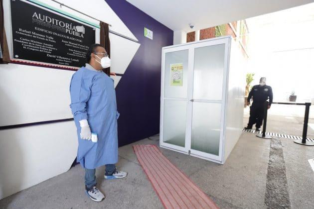 Revisa el protocolo para ingresar a la sede de la ASE de Puebla