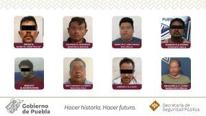 Trasladan a 14 reos en Puebla a penales federales por peligrosos