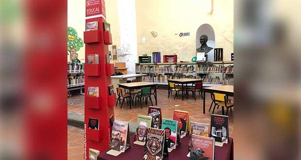 """Bibliotecas públicas de Puebla recibirán colección """"Vientos del Pueblo"""""""