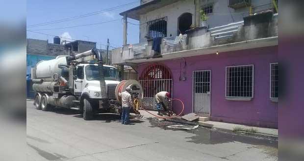 Colonia Antorcha en Izúcar tuvo que pagar limpieza de drenaje, señalan