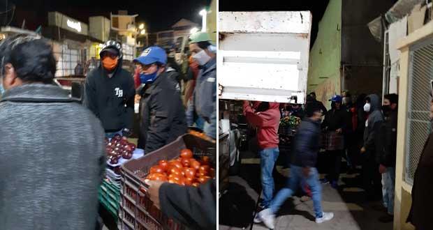 Comerciantes acusan que Chignahuapan quiere apoderarse de espacios