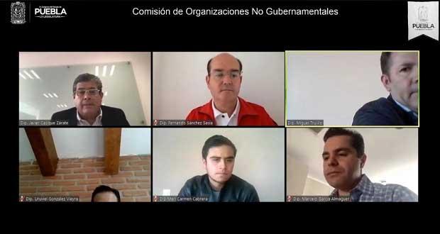 Congreso de Puebla analizará 10 iniciativas de ciudadanos