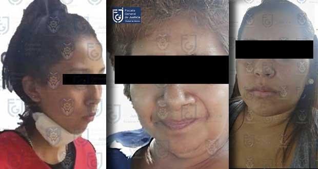 En Puebla, Tampico y Veracruz, detienen a secuestradores de CDMX