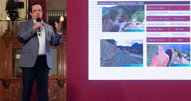 Con inversión de 4 mmdp, Federación va por mejorar caminos rurales