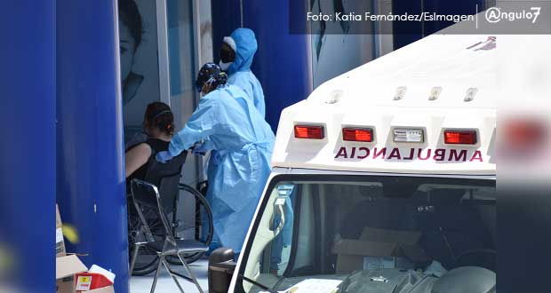 Van mil 390 muertos y 10 mil 229 contagios acumulados por Covid-19 en Puebla