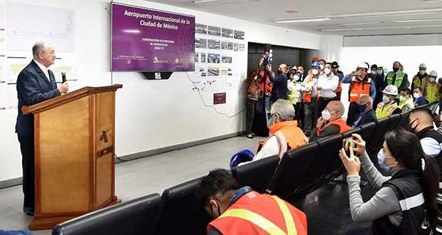 Terminal 2 del AICM comenzará a operar en próximos días: SCT