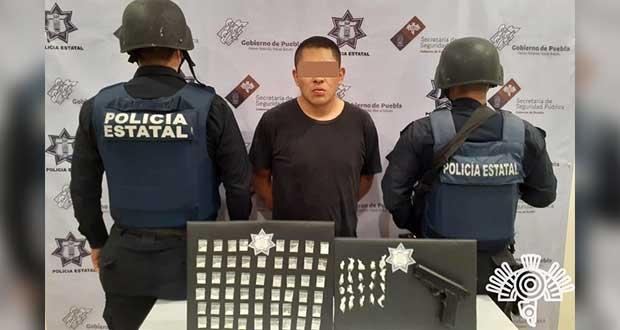 """SSP captura en Tehuacán a presunto vendedor de """"Los Socios"""""""