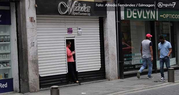 Negocios en Puebla podrían reanudar actividades en segunda semana de agosto